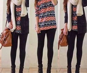 bag, clothes, and sweaters image