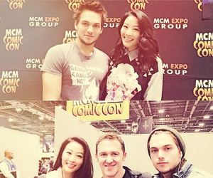 jeff davis, arden cho, and dylan sprayberry image