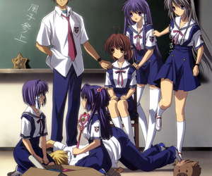 clannad, anime, and nagisa image
