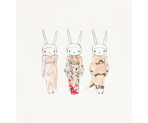 art, bunny, and fifi lapin image