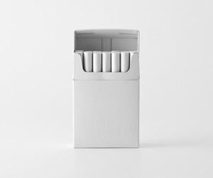 white and cigarette image