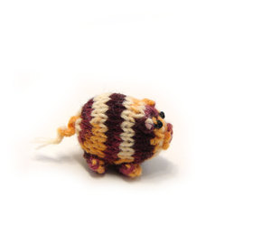 pig, baby toy, and handknit image