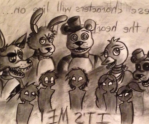five nights at freddy's and fnaf image