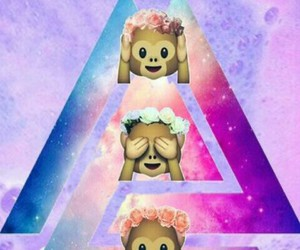monkey, hipster, and wallpaper image