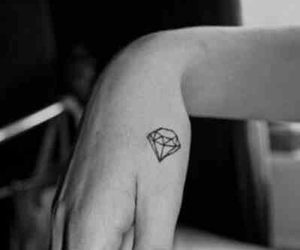 beautiful, black and white, and small tattoos image