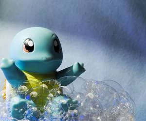squirtle, cute, and pokemon image