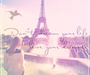 Dream, girl, and paris image