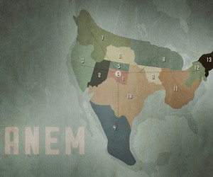 the hunger games and panem image