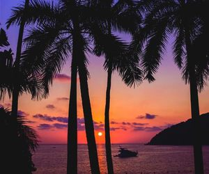 por do sol; acapulco image