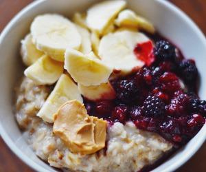 bananas, clean eating, and breakfast image