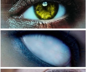 demon, eyes, and supernatural image