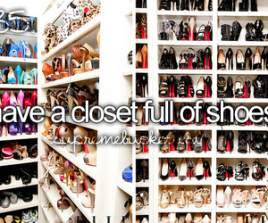 shoes and closet image