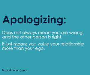 apologize, quote, and ego image