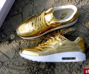 nike, air, and gold image
