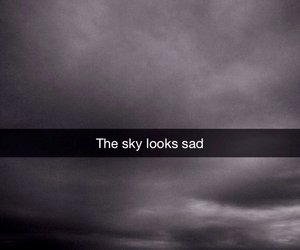 sad and sky image