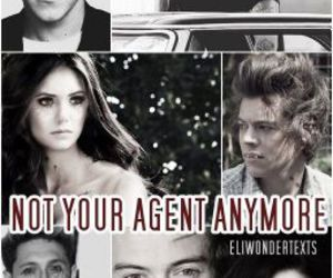 Nina Dobrev, Harry Styles, and vampire image