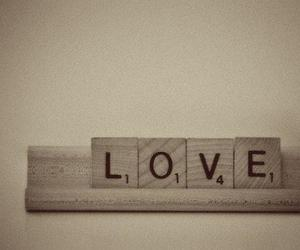 love and scrabble image