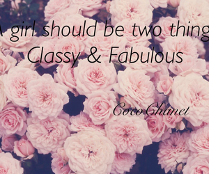 classy, fabulous, and flowers image