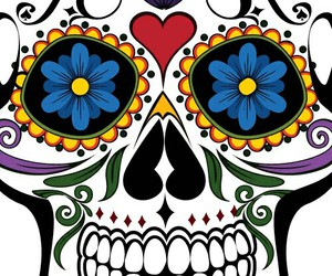 background, the, and calavera image