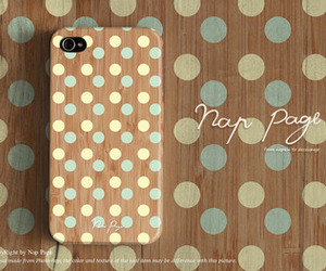 polkadots, iphone5case, and iphone6pluscase image