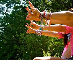 bracelet, summer, and friends image