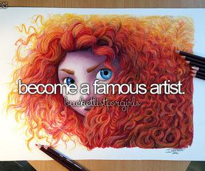 art, artist, and justgirlythings image