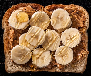 banana, food, and bread image