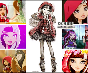 eah, ever after high, and cerise hood image