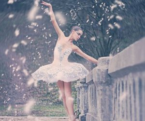 ballet, Dream, and snow image