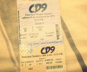 diciembre, cd9, and thepartytour image