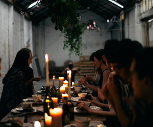 food and gathering image
