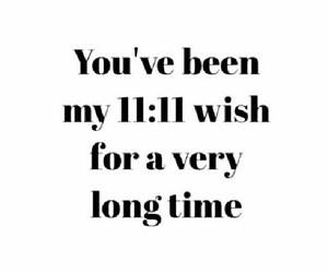 wish, 11:11, and love image