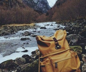 backpack, mountain, and travel image