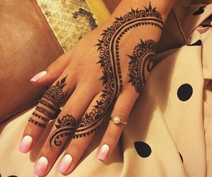 hand and ❤ image