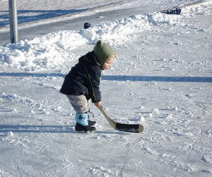 baby, hockey, and sport image