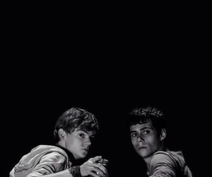 thomas sangster, thomas, and the maze runner image