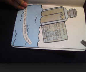books, wreck this journal, and creative image