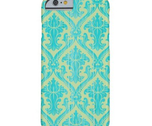 blue, cases, and damask image