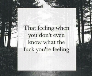 confused, feelings, and life image