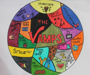 creative, draw, and the vamps image
