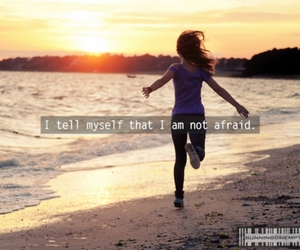 afraid, sunset, and free image