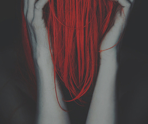 hair, red, and photography image