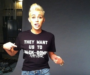 miley cyrus, miley, and justin bieber image