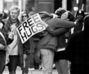 hug, love, and free image