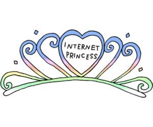 internet, princess, and transparent image