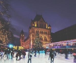 ice, lights, and london image