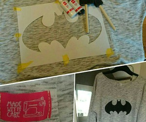 batman, divided, and diy image