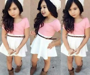 baby, fashion, and lovely image