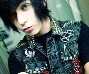 emo, Hot, and piercing image