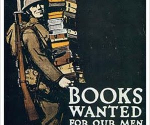 book, poster, and world war image
